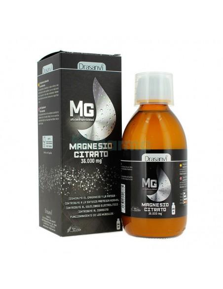 magnesio liquido citrato 250 ml drasanvi