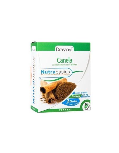 canela 60 caps nutribasics drasanvi