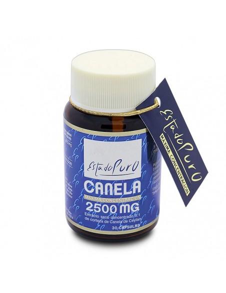 canela 2500 mg 30 capsulas estado puro