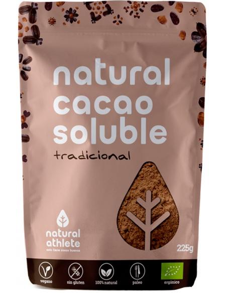 cacao soluble en polvo bio 225 gr