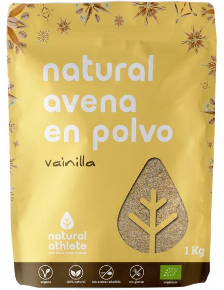 natural avena polvo vainilla 1 kg
