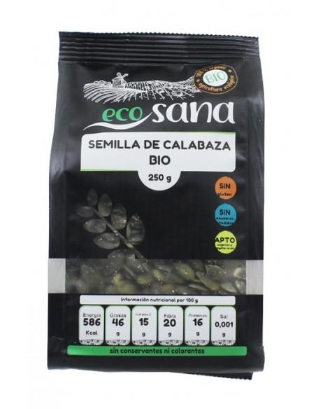 semilla calabaza 250gr bio ecosana