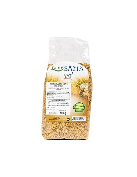 semilla lino dorado 500gr natursana