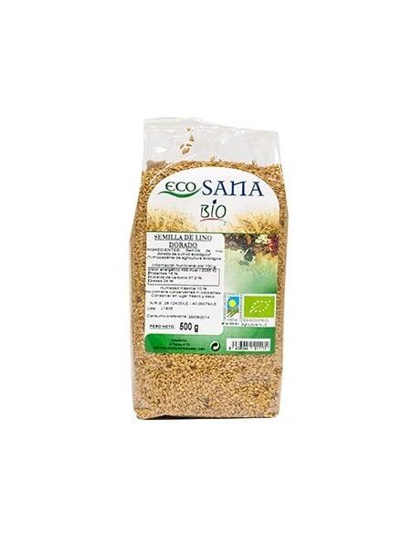semilla lino dorado bio 500gr ecosana