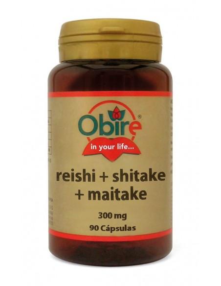reishi shitake maitake 300 mg 90 caps