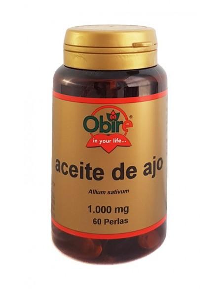 aceite de ajo 1000 mg 60 perlas nuevo