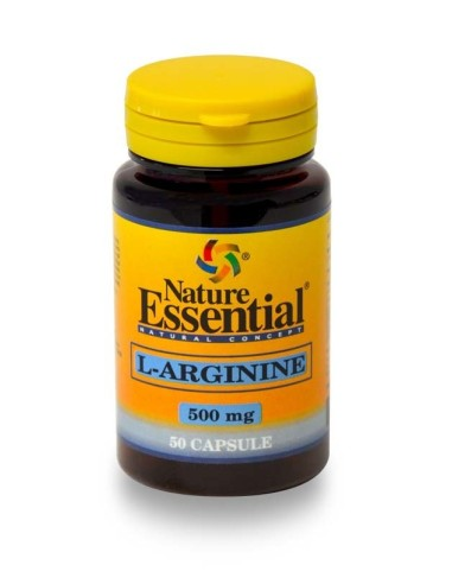 ne l arginina 500 mg 50cap