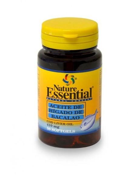 ne aceite higado bacalao 410 mg 50 per