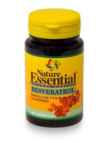 ne resverastrol semillas de uva 50 mg 50 cap