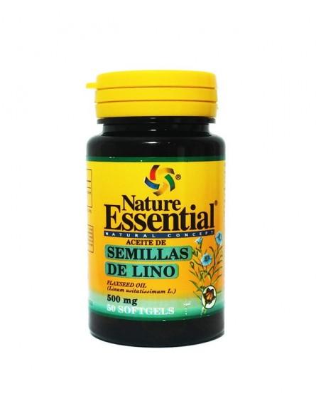 ne aceite semilla lino 500mg 50perl