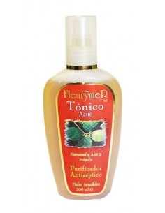 locion tonico acne hamameli aloe y propolis 200 ml