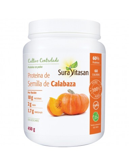 Proteína de Semilla de Calabaza  450 g