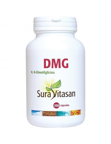 DMG N, Dimetilglicina  100 cápsulas