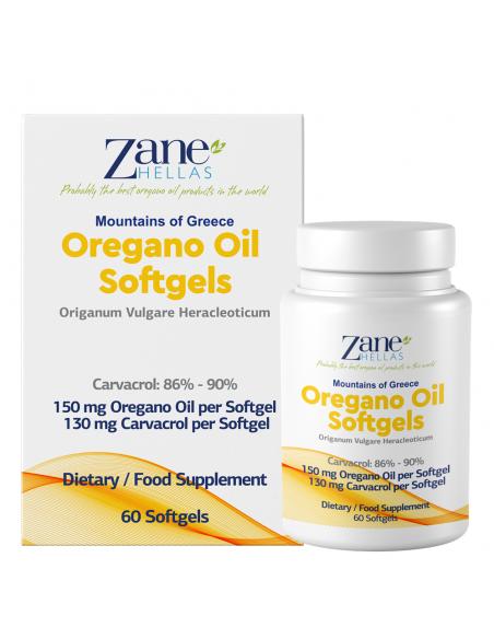 ZANE HELLAS Aceite de Oregano 30% -...