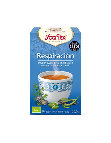 yogi tea respiracion bio 17 bolsitas
