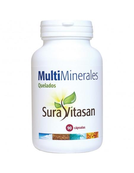Multi Minerales quelados  90 cápsulas