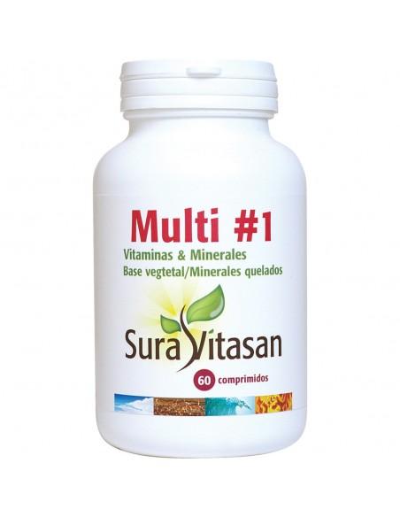 Multi #1 Vitaminas y Minerales 60 cápsulas