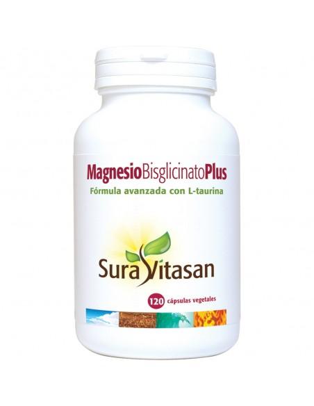 Magnesio Bisglicinato Plus  120 cápsulas