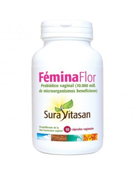 Fémina Flor 10 cápsulas vaginales