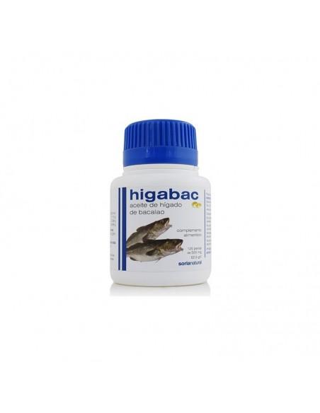 perlas aceite de higado de bacalao 125 p higabac