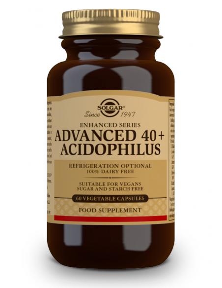ava40 y acidofilus 60 caps vegetal