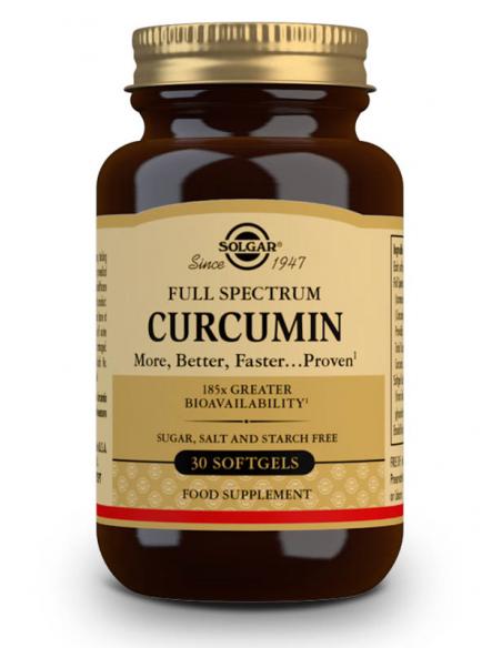full spectrum curcumin 30 caps blandas