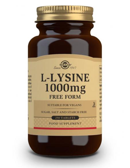 l lisina 1000mg 250 comprimidos