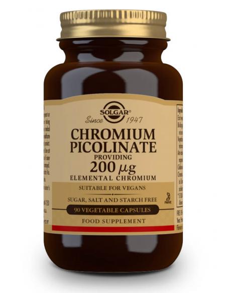 picolinato cromo 200mcg 90 caps