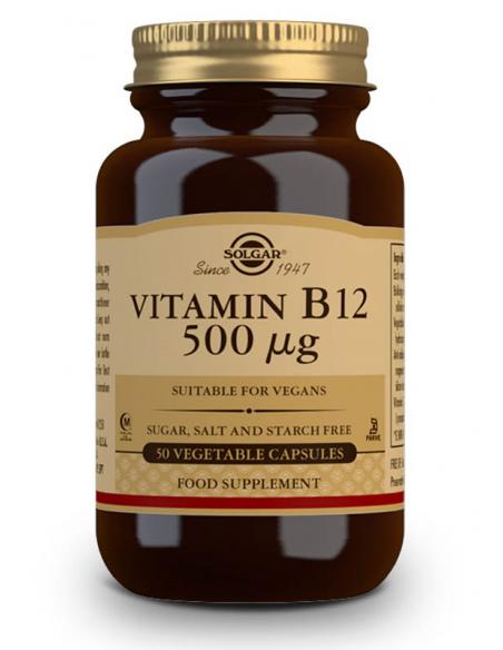 vitamina b12 500mcgcianocobalamina 50 c psulas vegetales