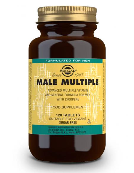 male multiple complejo para el hombre 120 comprimidos