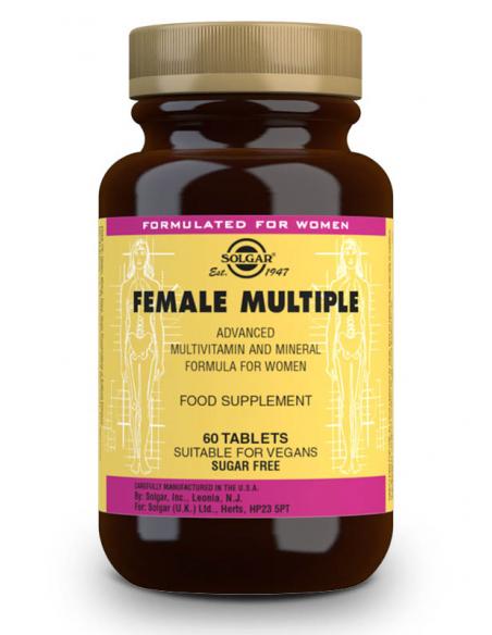 female multiple complejo para la mujer 60 comprimidos