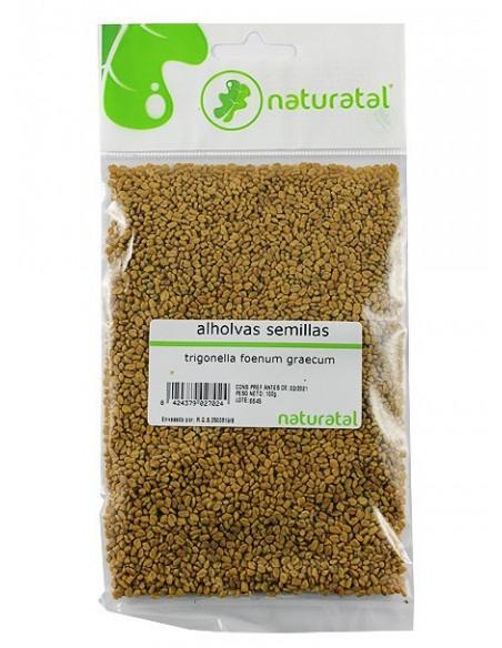 alholvas semillas trigonella foenum graecum 100gr