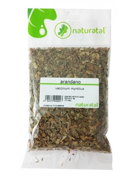 arandano hojas vaccinium myrtillus 30gr