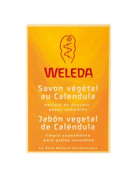 jabon vegetal de calendula 100gr