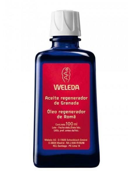 aceite corporal regenerador granada 100ml