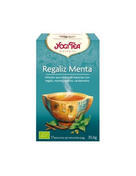 yogi tea regaliz menta bio 17 bolsitas