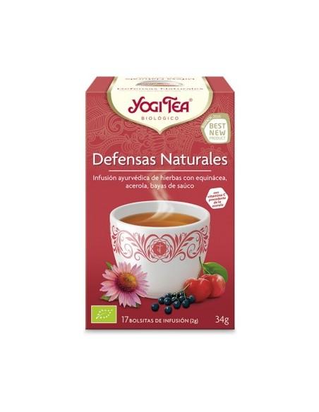 yogi tea defensas naturales bio 17 bolsitas