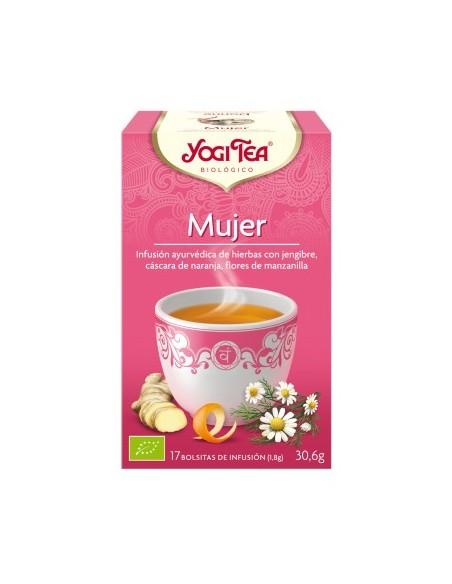 yogi tea mujer bio 17 bolsitas
